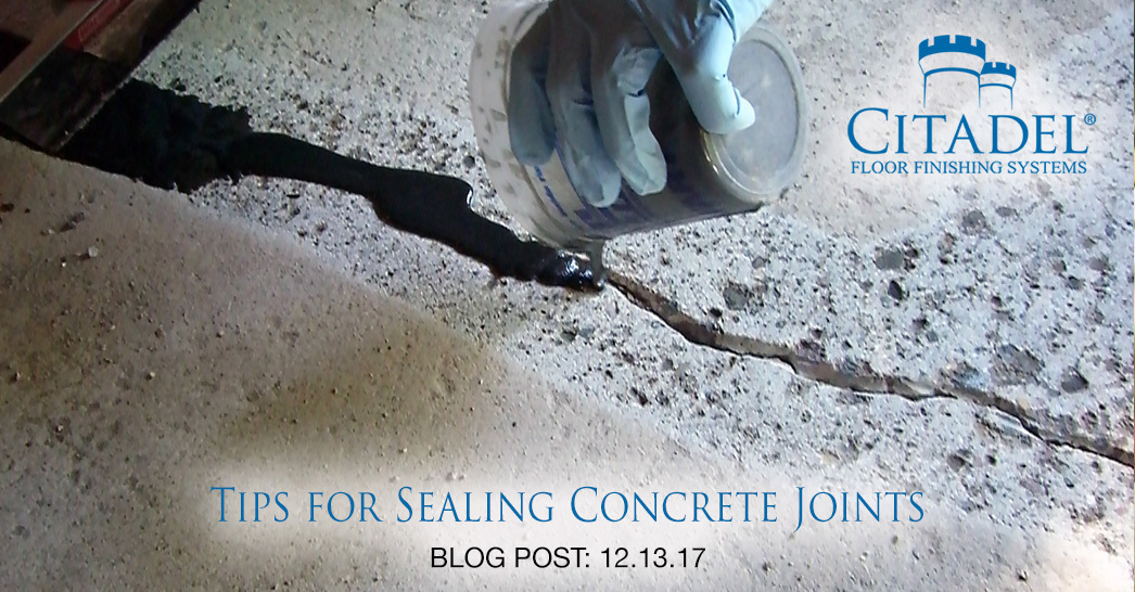 3 Tips for Effectively Sealing or Filling Concrete Joints