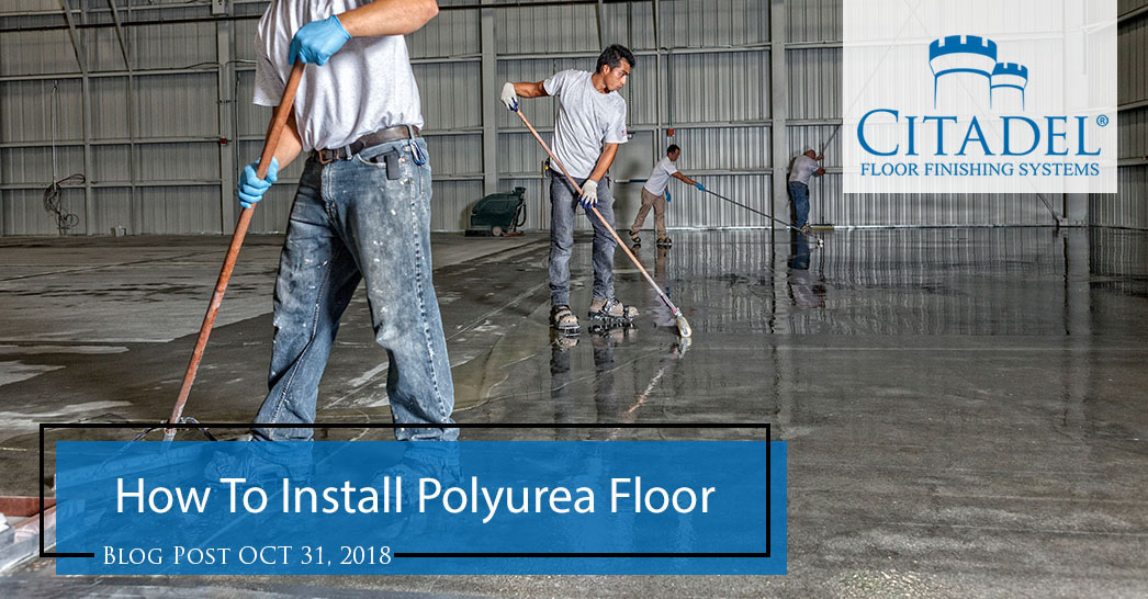 How to Install a Polyurea Concrete Coating, Step by Step